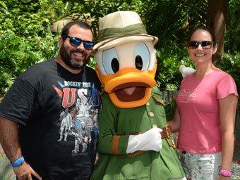 Eu a Naninha e o Donald